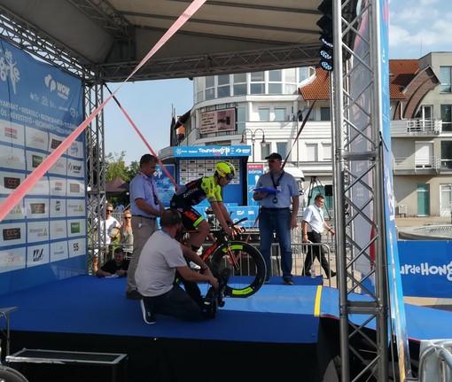 Collegno festeggia Umberto Marengo, tra i protagonisti al Giro di Slovenia