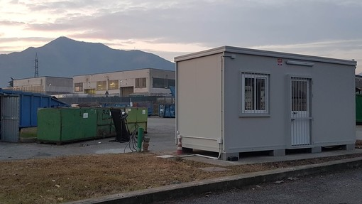 Riapre l'Ecocentro di Alpignano dopo il rifacimento degli uffici prefabbricati