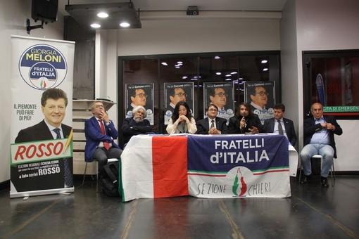 """Vittorio Sgarbi incontra Roberto Rosso nell'evento """"Le politiche culturali per il Piemonte"""""""