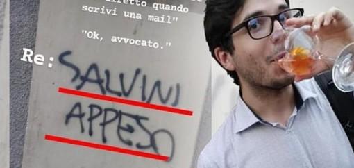 """Venaria, """"Salvini appeso"""" sul profilo Instagram: scoppia la bagarre sul candidato consigliere del centrosinistra"""