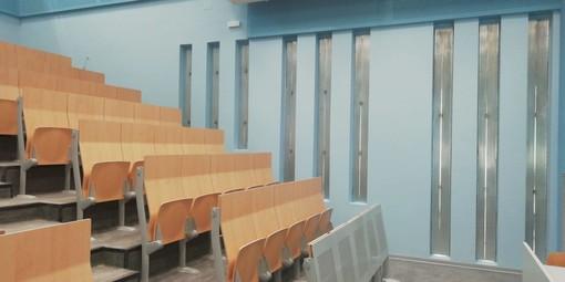 Curie-Vittorini di Grugliasco, nuova aula a gradoni e altri spazi g