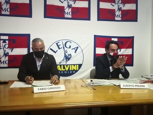 Fabio Carosso e Alberto Preioni
