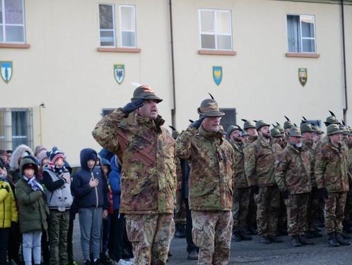 Alpini a scuola 2020, i ragazzi di Rivoli ospiti nella caserma dell'esercito