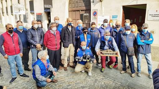 Venaria, il neo sindaco Giulivi alla manifestazione dedicata al modellismo