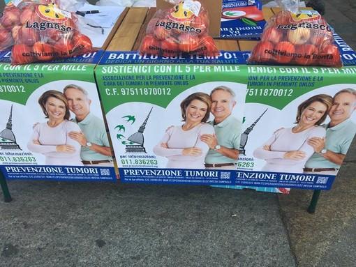 """Nel weekend a Torino e provincia tornano le """"mele della vita"""" contro i tumori"""