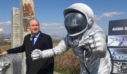 Collegno dà nuovamente il benvenuto al suo astronauta [FOTO]