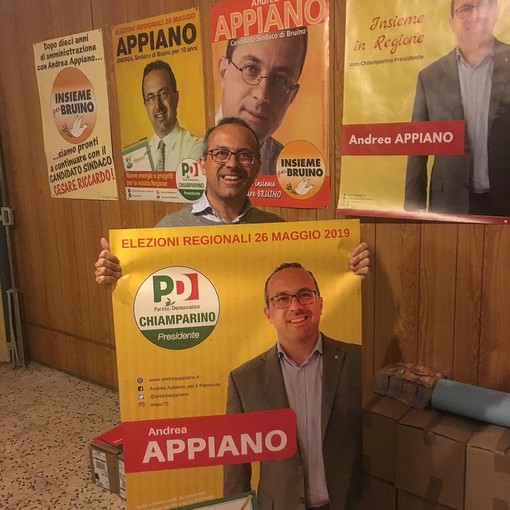 """Una candidatura """"rock"""" per Andrea Appiano (PD): """"L'entusiasmo non ci manca: c'è ancora molto da fare"""""""