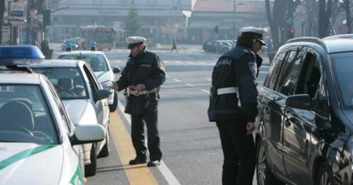 Controlli della municipale sul traffico