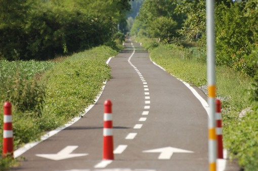 In bici da Parco Dora a Collegno: aperto un nuovo tratto della ciclopista