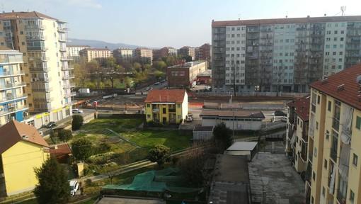 Il cantiere di corso Grosseto
