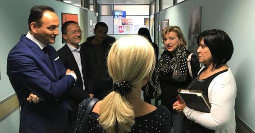 """Cirio e Vignale in visita all'ospedale di Lanzo: """"La Regione tuteli i presidi di valle e di montagna"""""""