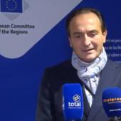 Alberto Cirio a Bruxelles