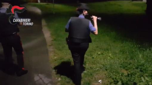 carabinieri in azione di notte