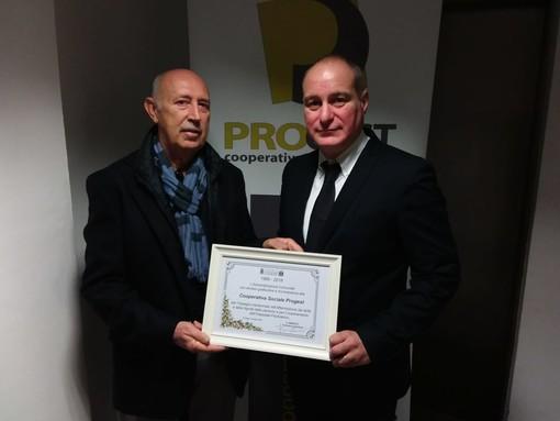 Collegno premia la cooperativa Progest per i suoi 30 anni al servizio del territorio (FOTO e VIDEO)