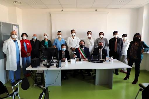 donazione sonde ecografiche all'ospedale di Rivoli