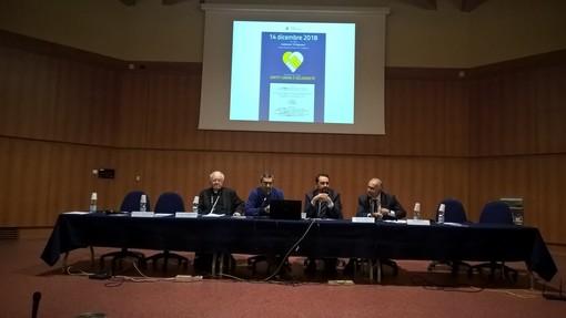 """""""Diritti umani e solidarietà"""" al centro dell'incontro con gli studenti nell'auditorium del Majorana di Grugliasco"""