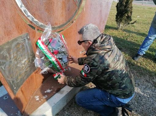 Venaria Reale: Casa Pound ricorda i martiri delle Foibe