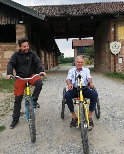 Al Parco della Mandria arrivano due handbike