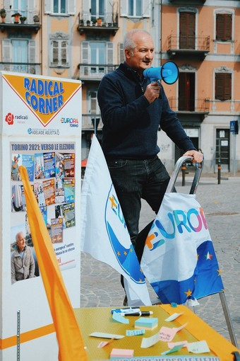 Igor Boni, leader dei Radicali Italiani