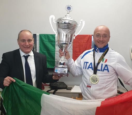 Collegno, Paolo Ruggero campione del mondo di kickboxing