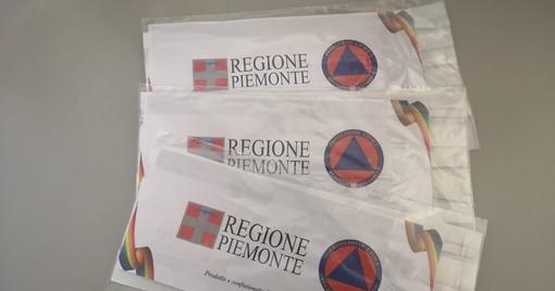 Venaria, parte la distribuzione delle mascherine della Regione Piemonte