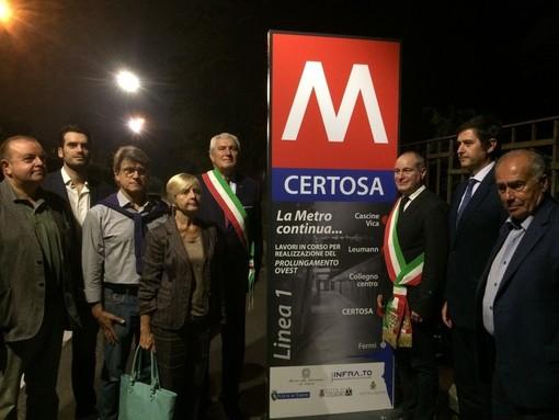 Collegno, dopo i lavori per la metro riapre via Torino