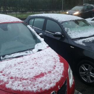 Prima neve della stagione: pochi fiocchi, soprattutto nella zona sud di Torino e nel Pinerolese