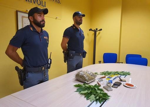 A Rivoli sequestrato oltre mezzo chilo di marijuana
