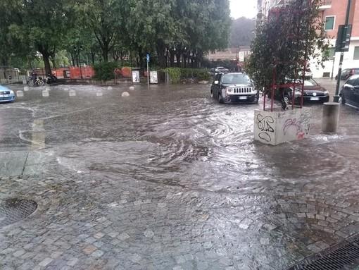 Il temporale di luglio a Torino