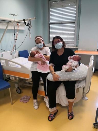 Doppio fiocco rosa a Rivoli: ai tempi del Covid le sorelle si ritrovano in ostetricia e ginecologia