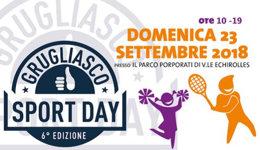 """Domenica torna """"Sport Day"""" al parco Porporati di Grugliasco con un occhio a prevenzione e salute"""