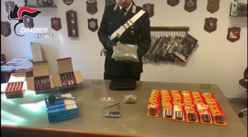 Mappano, i carabinieri pedinano i tossici e scoprono un centro smistamento e deposito merce rubata