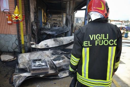 incendio carrozzeria orbassano